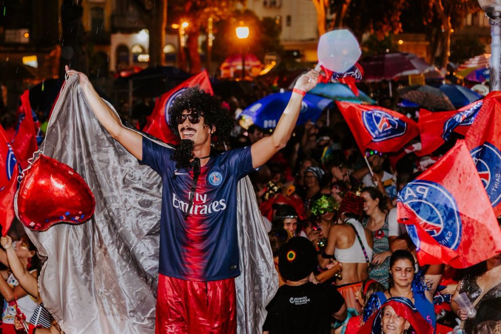 Carnaval PSG - Samba Digital, the digital sports agency