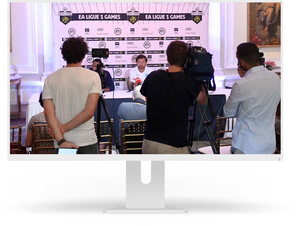 EA LIGUE 1 GAMES PRESS CONFERENCE