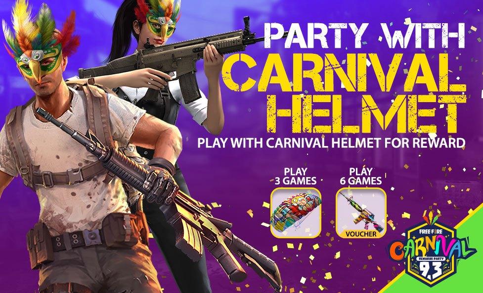 FreeFire's Carnaval Items