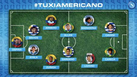 Napoli's Best Latin America XI