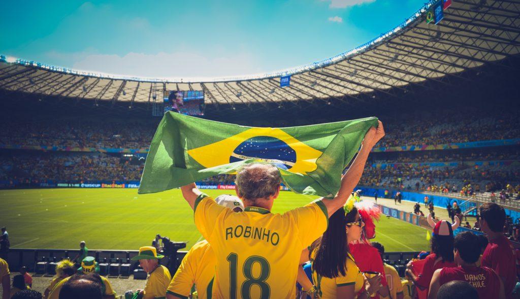 brazilian fan stadium