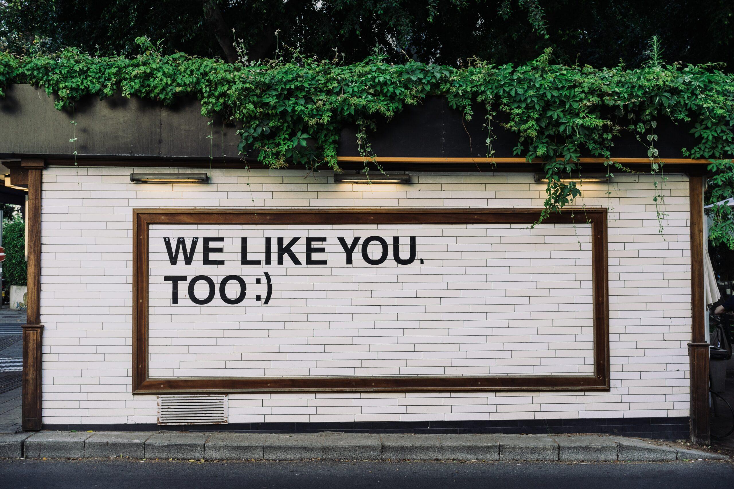 social media billboard