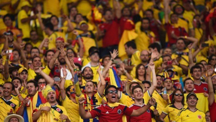colombian soccer fans