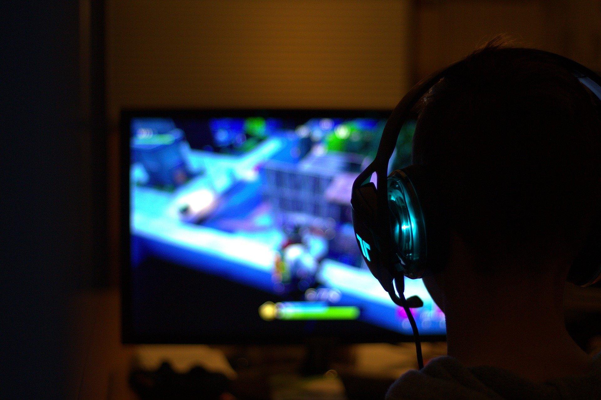 gamer screen esport