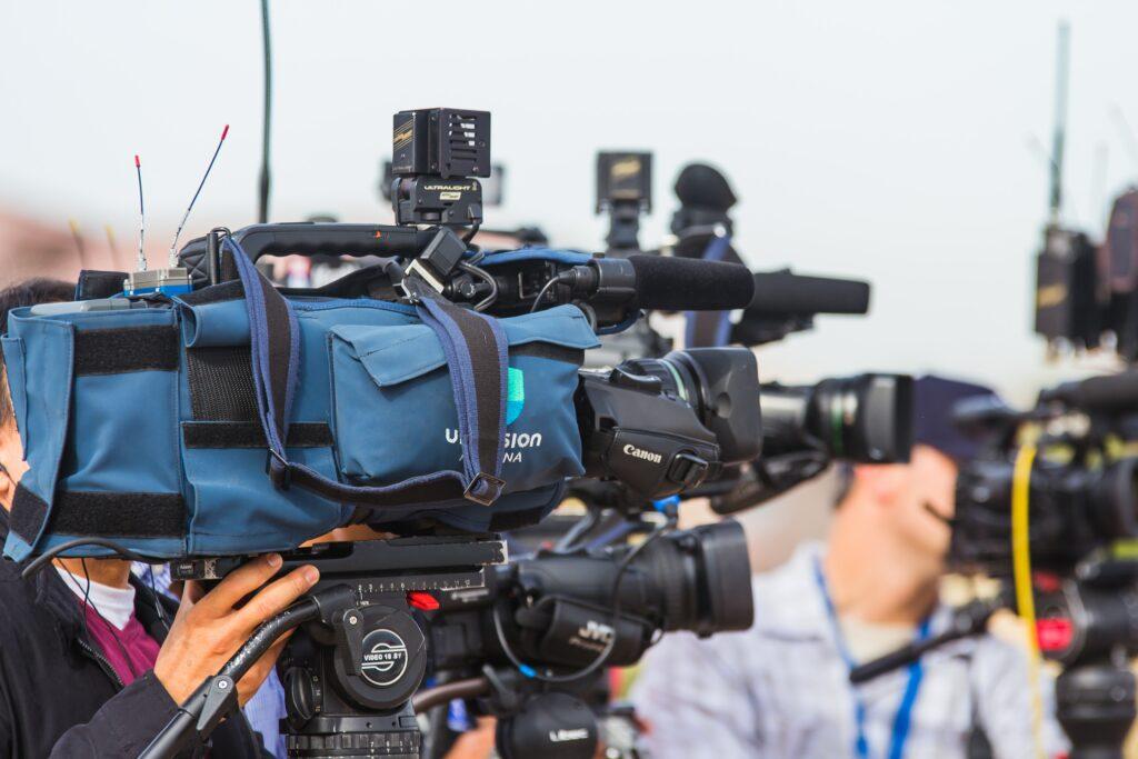 camera sport reporters