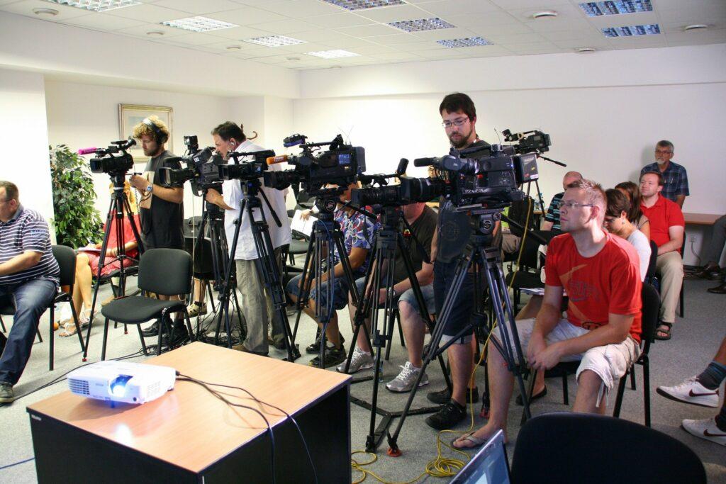 sport press conference