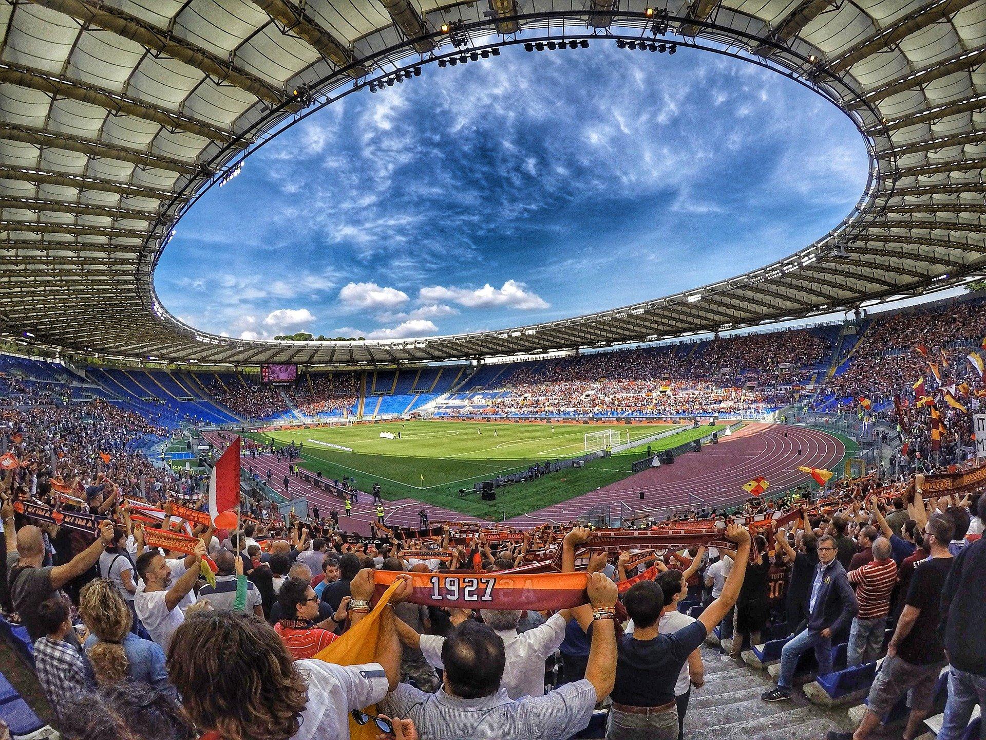 fans stadium